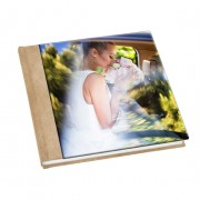 Matted album Glass cover