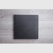Traditional album.Genuine leather